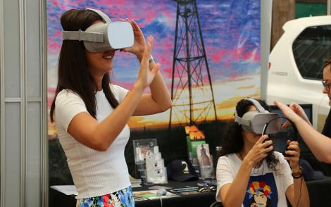Virtual Reality in Education with AgForce Queensland 2