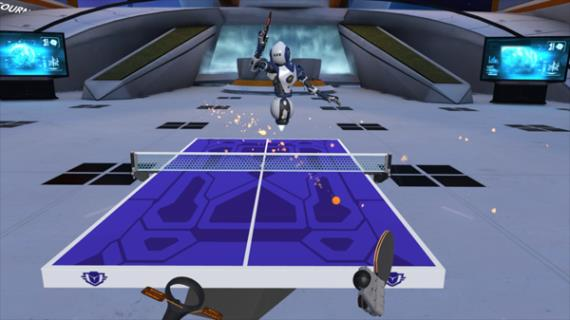 Racket Fury VR Table Tennis Hire